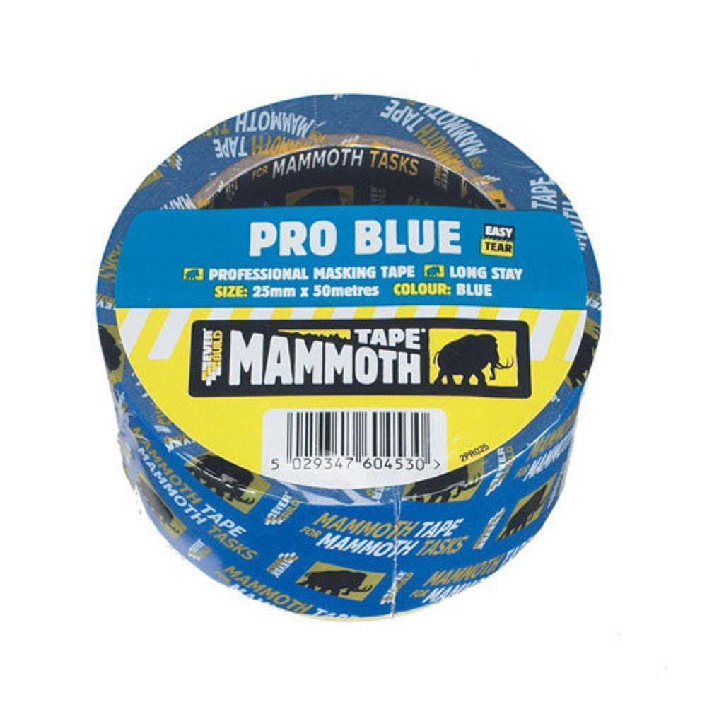 PRO BLUE MASKING TAPE 25MM