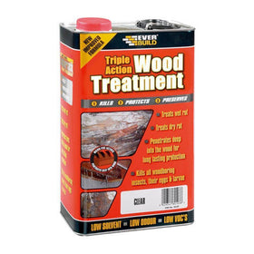 Triple Action Wood Treatment