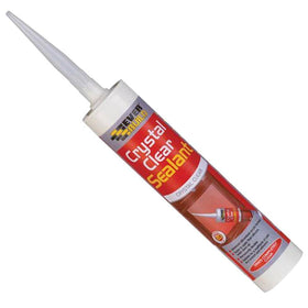 Everbuild Crystal Clear Sealant - 12 x 310ml tubes