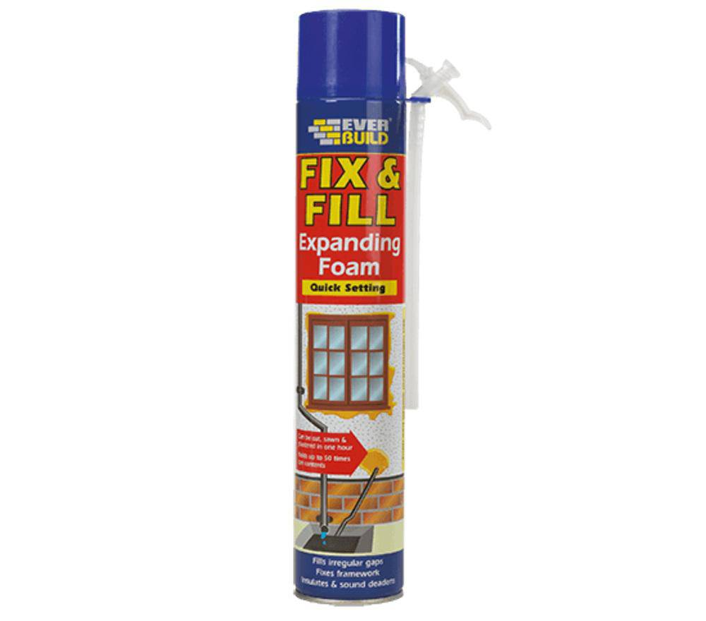 Everbuild Fix & Fill Expanding Foam Filler