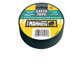 Gaffa Tape Twin Pack Black 50mm by Everbuild