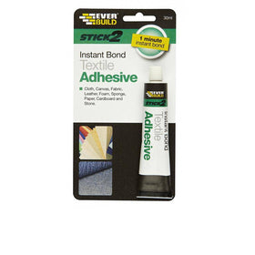 STICK 2 Textile Adhesive by Everbuild