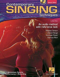 Contemporary singing techniques (+cd)