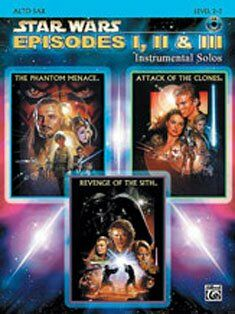 Star wars episodes 1-3 (+CD)