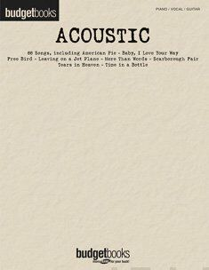 Budget Books Acoustic