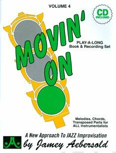 Aebersold vol. 4 - Movin' on (+cd)