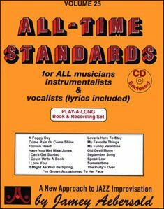 Aebersold vol. 25 - All-time standards (+2 cd)