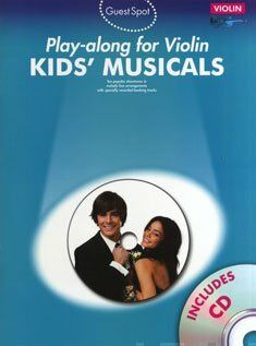 Play-alonf for violin kids' musicals (+cd)