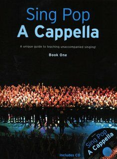 Sing pop a cappella (+cd)