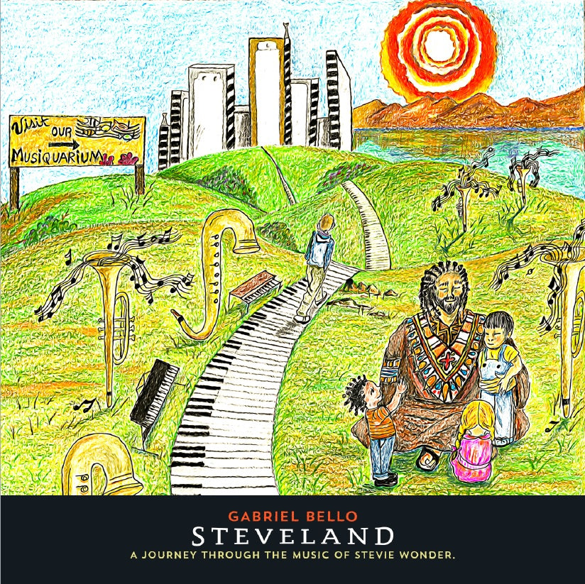 SteveLand a journey through the music of Stevie Wonder - CD
