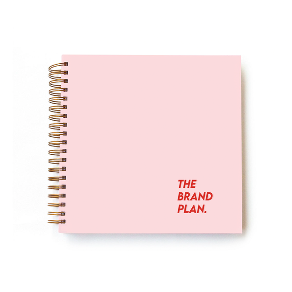 Brand Plan - Hard Cover Powder Pink