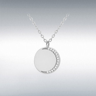 Sterling Silver Engraveable disc