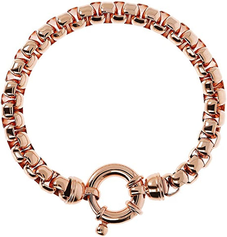 Bronzallure Flexible Rose Gold Bracelet