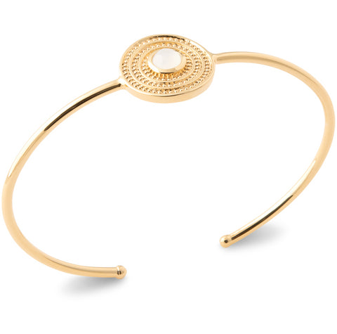 Burren JW Gold Plated Bangle