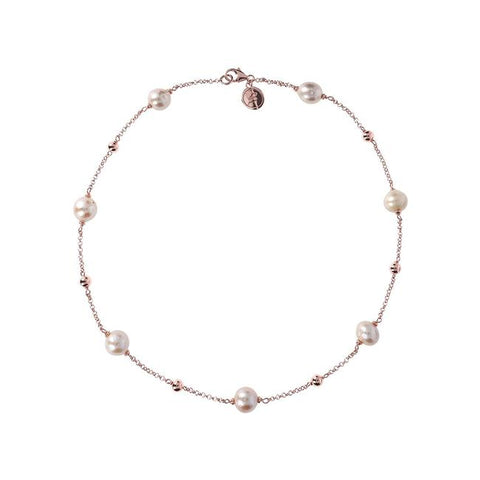 Bronzallure Ming Pearl Necklace