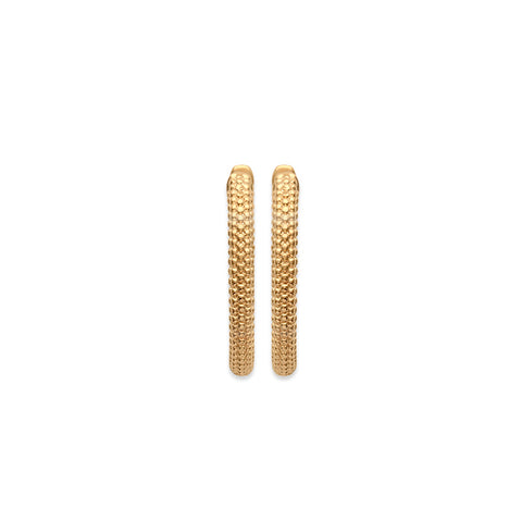 18k Gold Plated Earrings burren jw