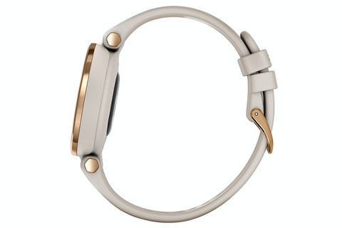 Garmin Lily | Rose Gold/Light Sand Sili
