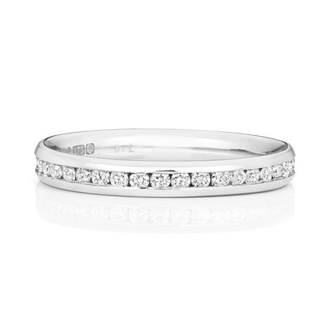 W230W 9CT DIAMOND ETERNITY RING