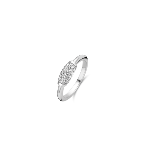 The centrepiece of this TI SENTO - Milano silver ring 12192ZI