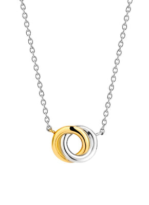 Ti-Sento Gold and Silver Pendant