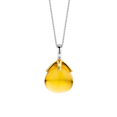 Ti Sento Yellow Gemstone Pendant