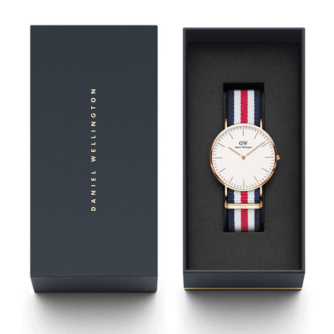 Classic Canterbury with Rose Gold Case