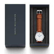 Dapper Durham with Silver Case daniel wellington watches