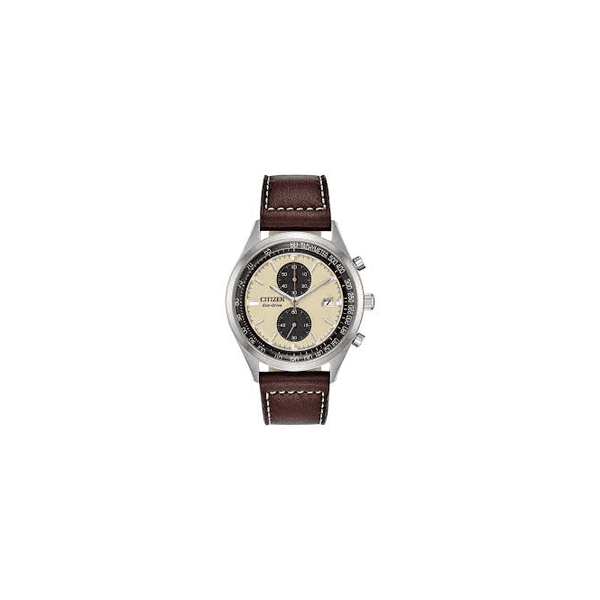 Citizen Vintage Chronograph Eco Drive Watch
