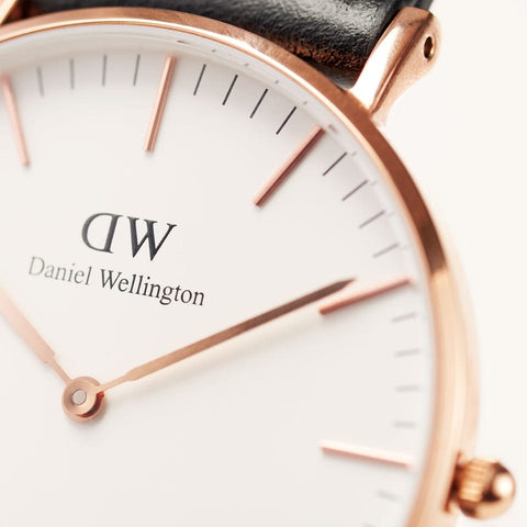 Classic Cornwall with White Dial and Rose Gold Case daniel wellington watches