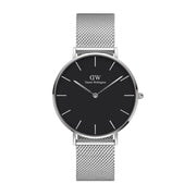 Classic Petite Sterling with Black Dial