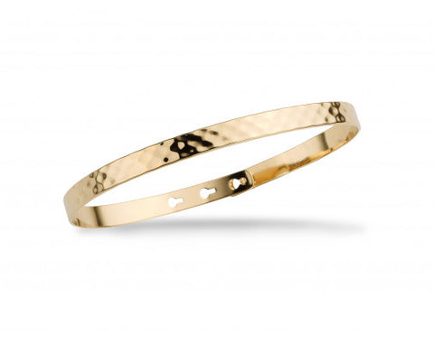 Hammered Mya Bay Bangle