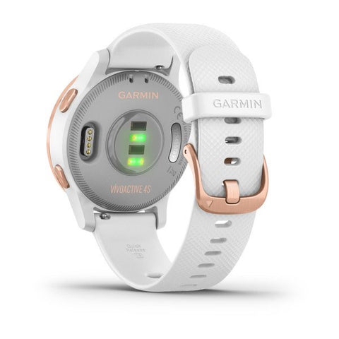 vívoactive 4s White with Rose-gold Hardware