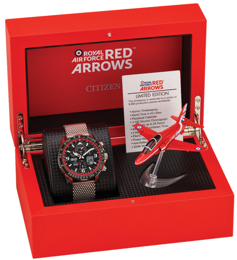 citizen red arrow limited edition watch