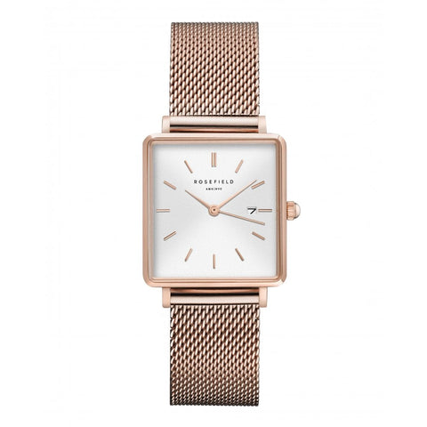 Rosefield Rose Mesh Sunray Ladies Watch
