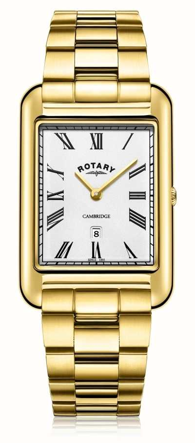 Rotary Gents Watch Gold Plated Bracelet Strap