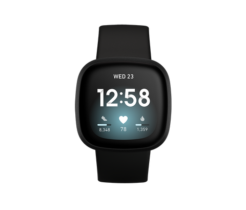 Meet Fitbit Versa 3, the health & fitness smartwatch with built-in GPS, Active Zone Minutes, 20+ exercise modes and music experiences to keep you moving.
