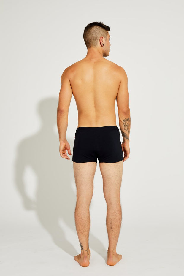 Men's Brazilian Style Trunks Black