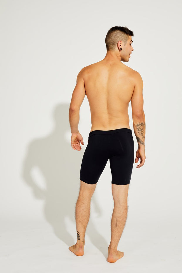 Men's Cycling Shorts Black, Coolform Light