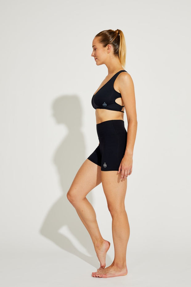 Mid-Rise Shorts Black, Coolform Light