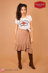 Paisley Raye Good Vibes Society Graphic Tee, Radiant Rebel Boutique