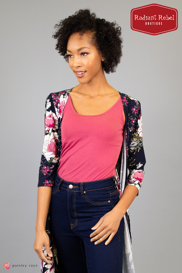 Paisley Raye Layering Tank, Radiant Rebel Boutique