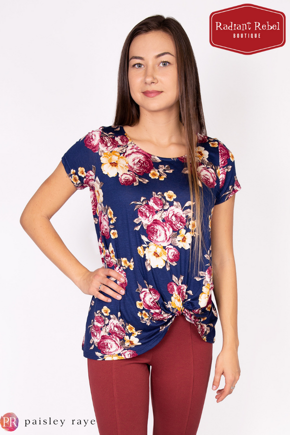 Paisley Raye Nerine Tee, Radiant Rebel Boutique