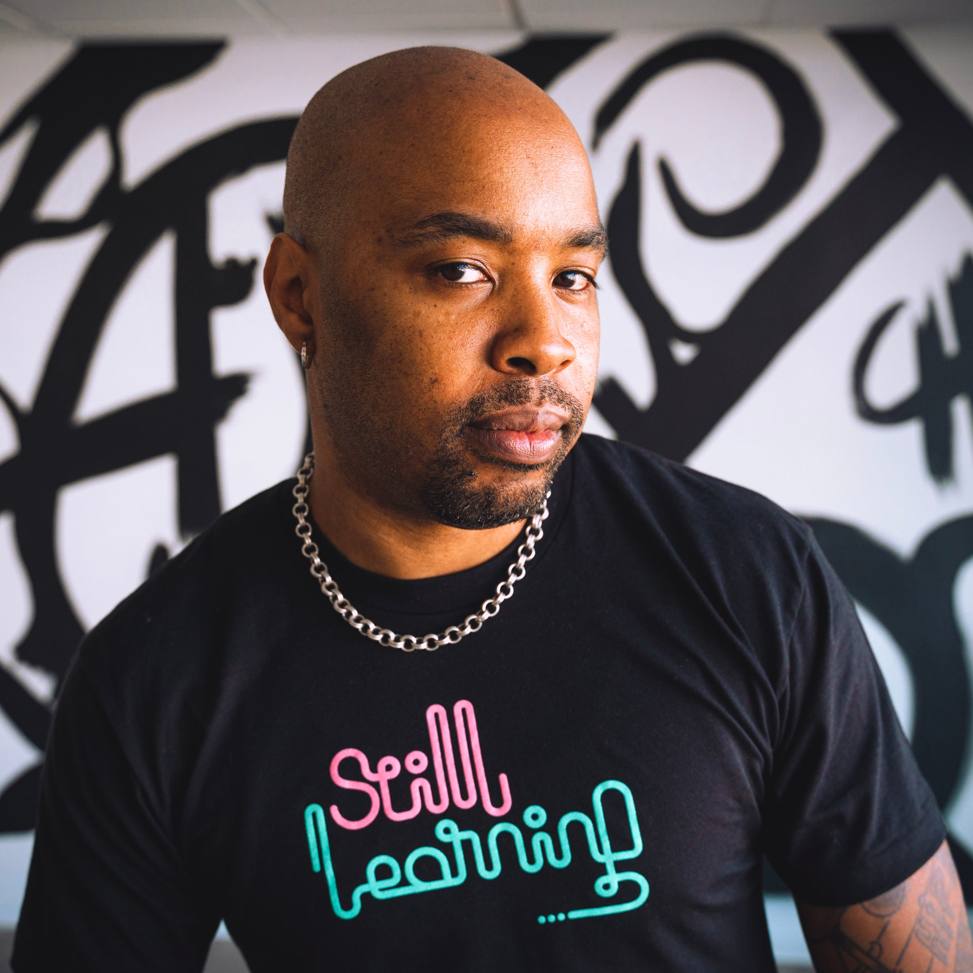 """Still Learning"" (The ""Art Deco"" Collection) Tee"