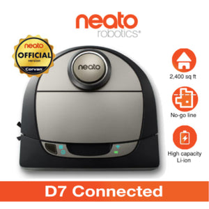 Neato Robotic Vacuum Cleaner D7 Connected [Official by Corvan]
