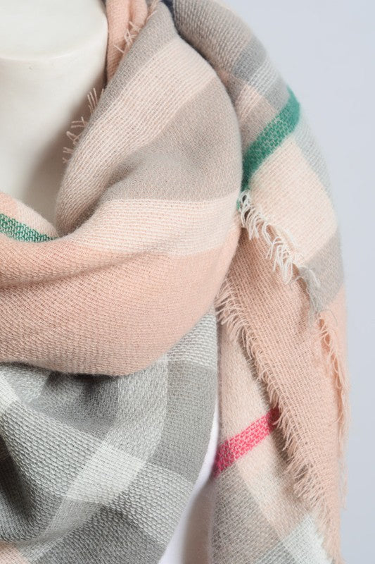 Cotton Candy Blanket Scarf