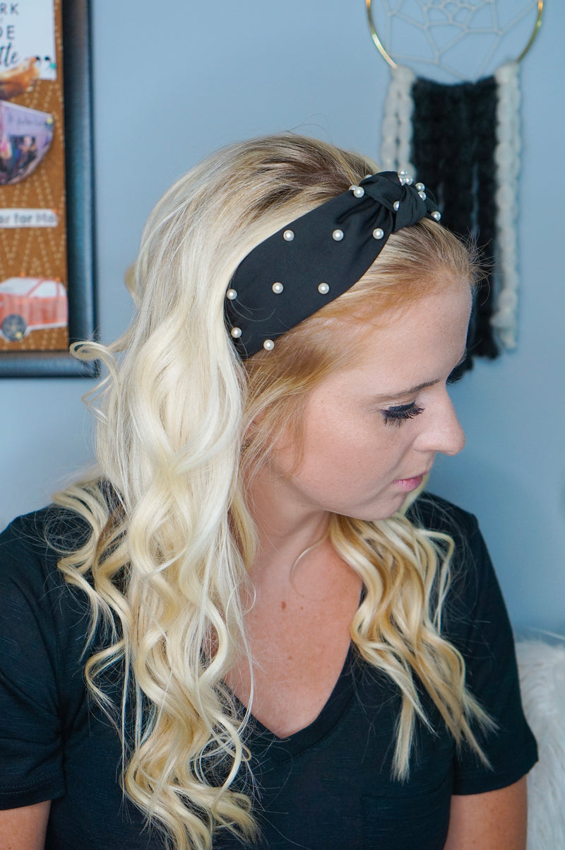 Oh My Golly Pearl Headband