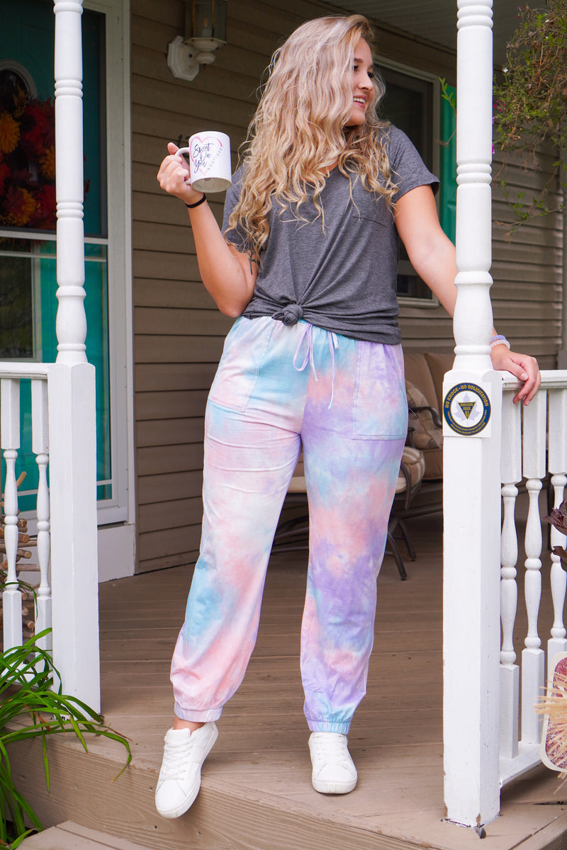 Sweet Dreams Tie Dye Joggers