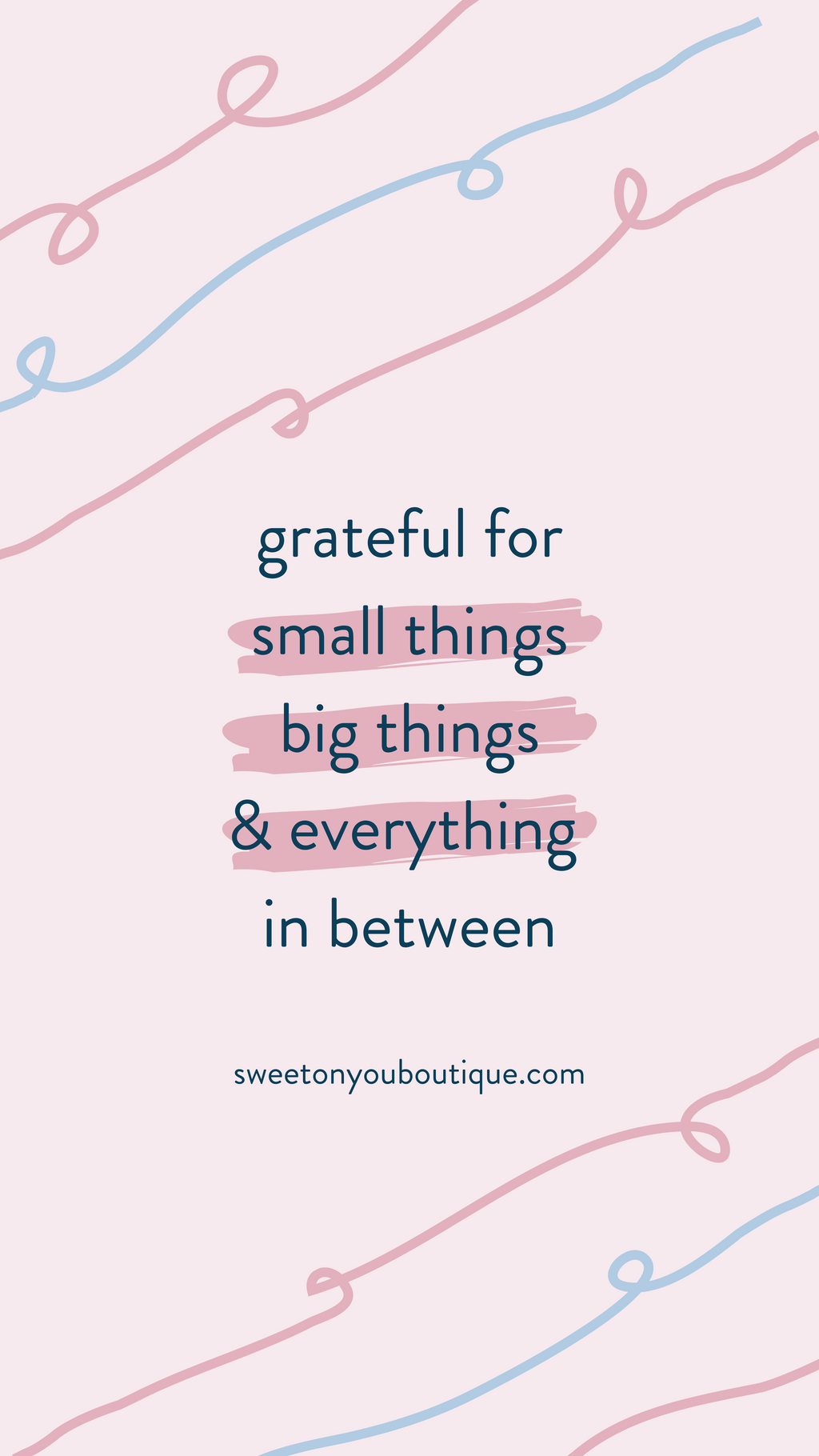 Grateful For All Things