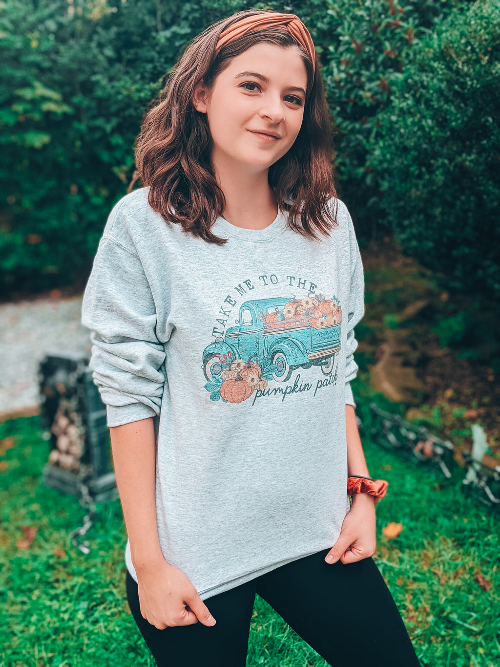 Take Me To The Pumpkin Patch Sweatshirt