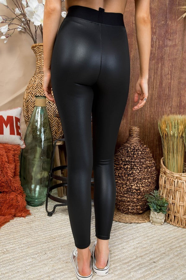 Night Out Faux Leather Leggings